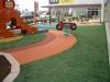 埼玉県花園 LCモール内の遊具下に人工芝を設置しました