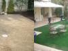 東京都港区西麻布 K様迎賓館に人工芝を施工しました