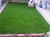 東京都調布市八雲台 一般住宅のお庭へ人工芝ステップターフが採用されまして、施工しました。人工芝施工後