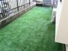 東京都杉並区浜田山 一般住宅お庭 人工芝ステップターフ施工後