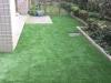 東京都中野区中央 マンション専用庭へ人工芝ステップターフが採用されまして、施工しました。