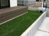 埼玉県深谷市 一般住宅のお庭へ人工芝ステップターフが採用されまして、施工しました。人工芝施工後