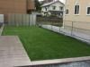 茨城県守谷市 一般住宅のお庭へステップターフ人工芝を施工しました。