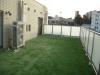 東京都港区西麻布 マンション専用庭ルーフバルコニーへ人工芝ステップターフが採用され施工しました。