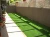 神奈川県横浜市新子安 マンション専用庭へ人工芝ステップターフを施工しました。