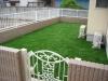 群馬県 新築住宅のお庭へ人工芝ステップターフが採用されまして、施工しました。