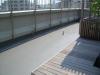 東京都世田谷区池尻大橋 マンションルーフバルコニーへ人工芝ステップターフが採用されました。人工芝施工前