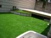 東京都国立市 一般住宅のお庭へ人工芝ステップターフが採用されまして、施工しました。