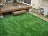 東京都練馬区東大泉 一般住宅のお庭へ人工芝ステップターフを施工しました。
