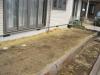 神奈川県秦野市 一般住宅のお庭へ人工芝ステップターフが採用されまして、施工しました。人工芝施工前