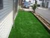神奈川県秦野市 一般住宅のお庭へ人工芝ステップターフが採用されまして、施工しました。人工芝施工後
