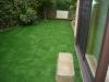 千葉県浦安市 一般住宅のお庭へ人工芝ステップターフが採用されまして、施工しました。