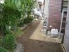 東京都足立区鹿浜 A様邸 お庭 人工芝施工前