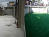 大阪府泉大津 Y様邸に人工芝を施工しました