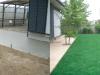 千葉県四ツ街道市 M様邸に人工芝を施工しました
