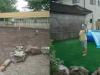 栃木県 I様邸に人工芝を施工しました