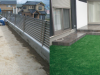 滋賀県甲賀氏 T様邸に人工芝を施工しました