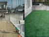 千葉県鎌ヶ谷市 K様邸に人工芝を敷きました