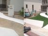 愛知県 U様邸に人工芝を設置しました