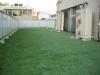 東京都港区元麻布 F様邸 マンションのルーフバルコニーに人工芝ステップターフを施工しました。
