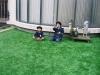 神奈川県川崎市 江川幼稚園様園庭に人工芝を施工しました