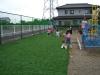 茨城県古河市 白梅幼稚園様園庭に人工芝を施工しました