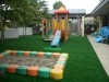 茨城県龍ヶ崎市 ときわ保育園様園庭に人工芝を施工しました