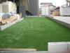 愛知県名古屋市 新築の保育園 園庭へ人工芝ステップターフが採用されまして、施工しました。人工芝施工後