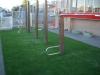静岡県静岡市駿河区 ふじみ幼稚園 遊具下へ人工芝ステップターフを施工しました。