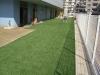 神奈川県横浜市大豆戸 新築保育園園庭 人工芝ステップターフが採用されまして施工しました。