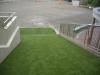 神奈川県横浜市保土ヶ谷区 境木幼稚園 すべり台として遊ぶ場所に人工芝ステップターフを敷設しました。