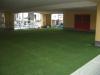 静岡県静岡市駿河区 ふじみ幼稚園様 園庭へ人工芝ステップターフを施工しました。