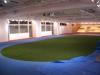 東京都千代田区飯田橋 グローバルキッズ保育園 屋内運動場に人工芝ステップターフを施工しました。