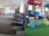 埼玉県春日部 武里幼稚園様屋内園庭に人工芝を敷設しました