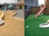 岐阜県わかば第ニ保育園様に人工芝を施工しました