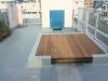 東京都大田区仲池上 エレベータ会社様の屋上に人工芝ステップターフが採用されました。人工芝施工前