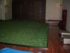 東京都世田谷区中町 新しいフィットネスクラブの室内に人工芝ステップターフを敷設しました。人工芝敷設後