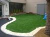 東京都葛飾区立石 老人ホームお庭へ人工芝ステップターフを施工しました。
