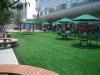 群馬県高崎市 ヤマダ電機様の多目的広場に人工芝を設置しました