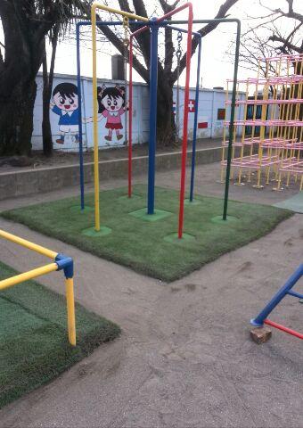 人工芝メンテナンス